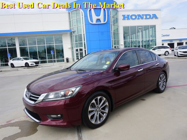 2014 Honda Accord Sport For Sale >> Pre Owned 2014 Honda Accord Sedan Sport Fwd 4dr Car