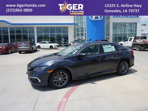 New 2019 Honda Civic Sedan EX FWD 4dr Car