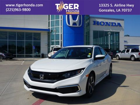 New 2019 Honda Civic Sedan LX FWD 4dr Car