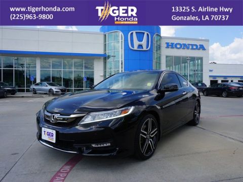 Pre-Owned 2016 Honda Accord Coupe Touring With Navigation