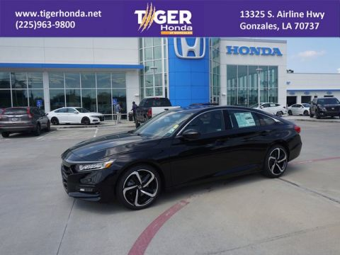 New 2019 Honda Accord Sedan Sport 2.0T FWD 4dr Car