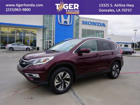 Pre-Owned 2015 Honda CR-V Touring With Navigation